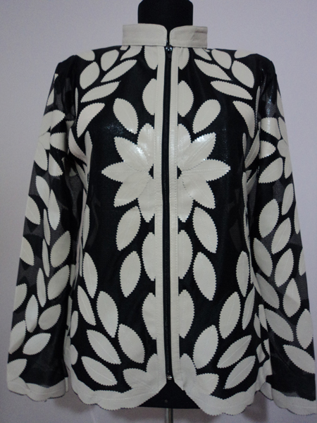 Click to See Available Colours of Desing 02 Leather Leaf Jackets